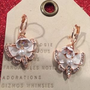 Anthropologie earrings Butterfly earrings new